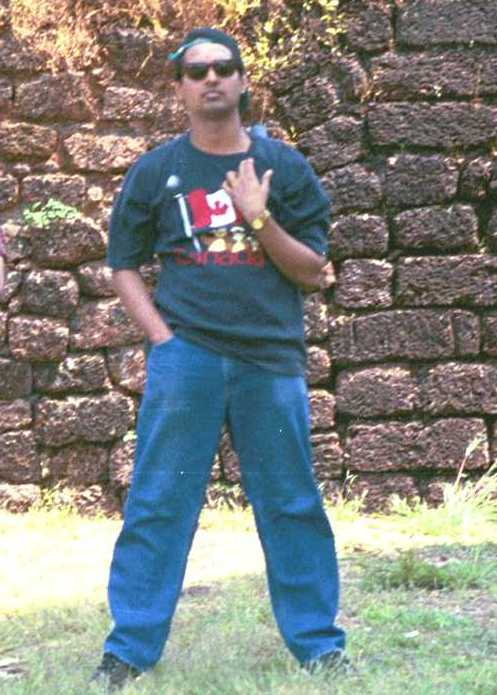 Inside Fort Aguada , Goa, October 2001.
